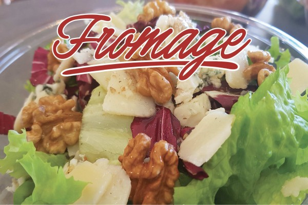 Salade fromage