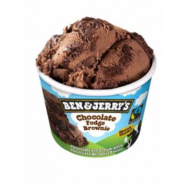 Glace Ben&Jerry's Fudge brownie Chocolat (100ml ou 500ml)