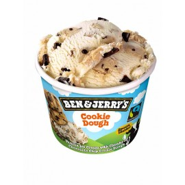Glace Ben&Jerry's Vanille Cookie Dough (100ml ou 500ml)